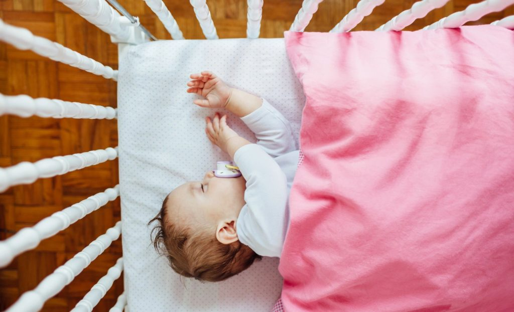 Babies can become very sleepy after bathtime, it's a great time to put them down for a nap!