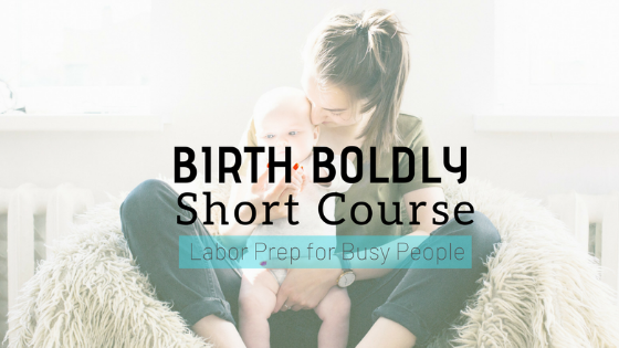 Online Birth Course for Busy People